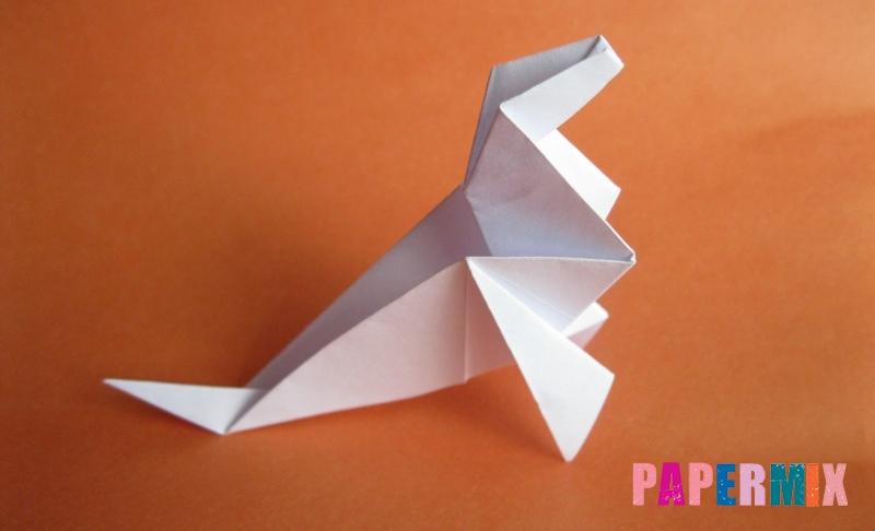 Как сделать моржа из бумаги в технике оригами своими руками поэтапно