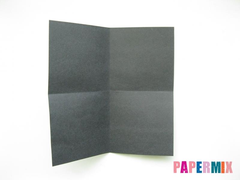 Как сделать носорога из бумаги (оригами) поэтапно - шаг 1