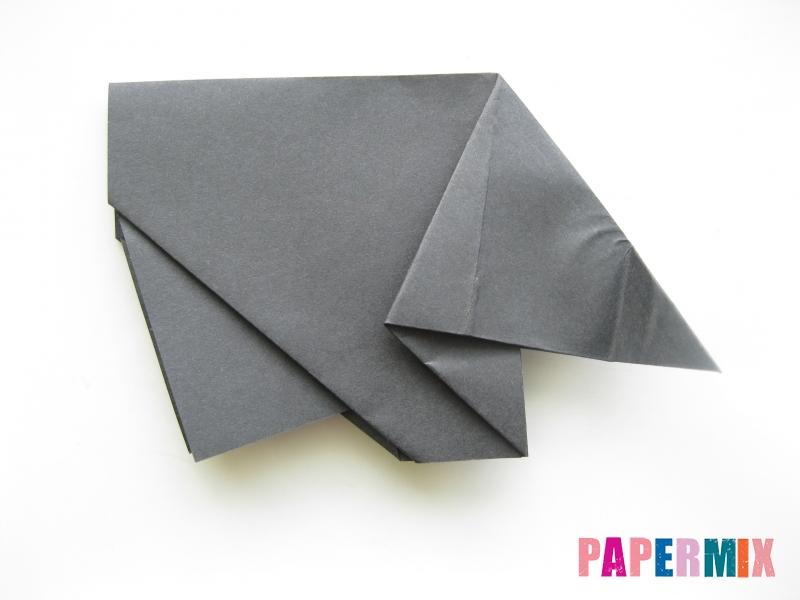 Как сделать носорога из бумаги (оригами) поэтапно - шаг 11