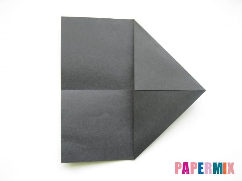 Как сделать носорога из бумаги (оригами) поэтапно - шаг 2