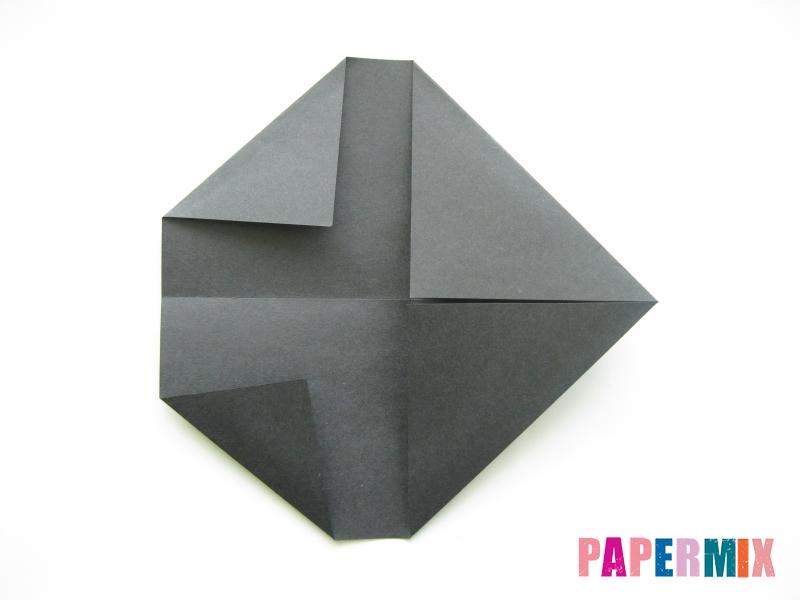 Как сделать носорога из бумаги (оригами) поэтапно - шаг 3