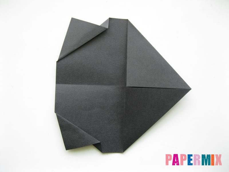 Как сделать носорога из бумаги (оригами) поэтапно - шаг 4