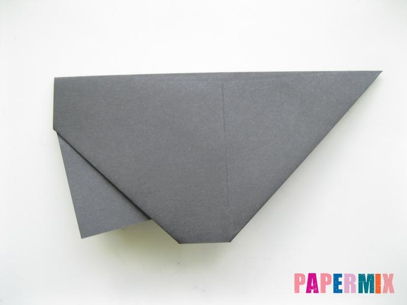Как сделать носорога из бумаги (оригами) поэтапно - шаг 5