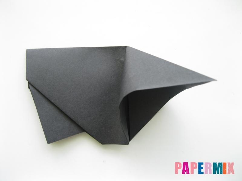 Как сделать носорога из бумаги (оригами) поэтапно - шаг 6