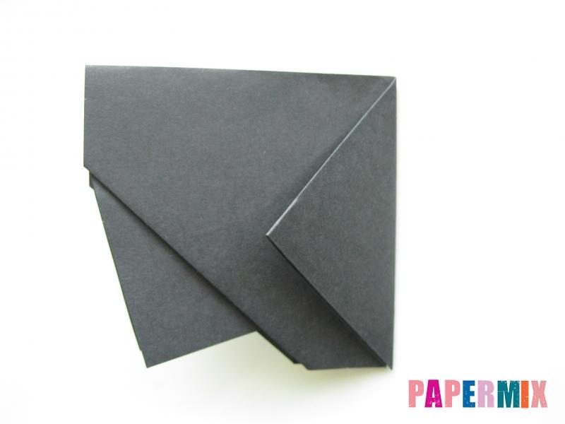 Как сделать носорога из бумаги (оригами) поэтапно - шаг 8