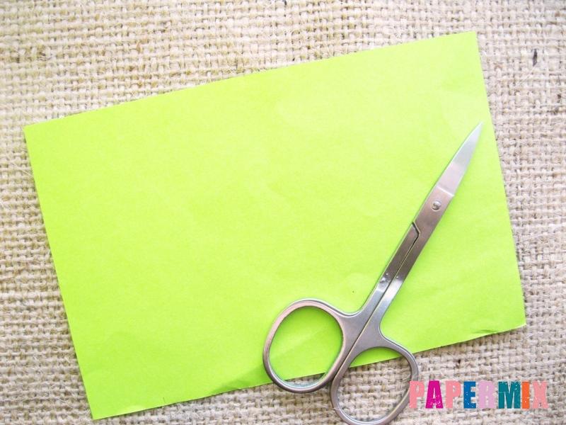 Как сделать объемного лягушонка из бумаги своими руками - шаг 1