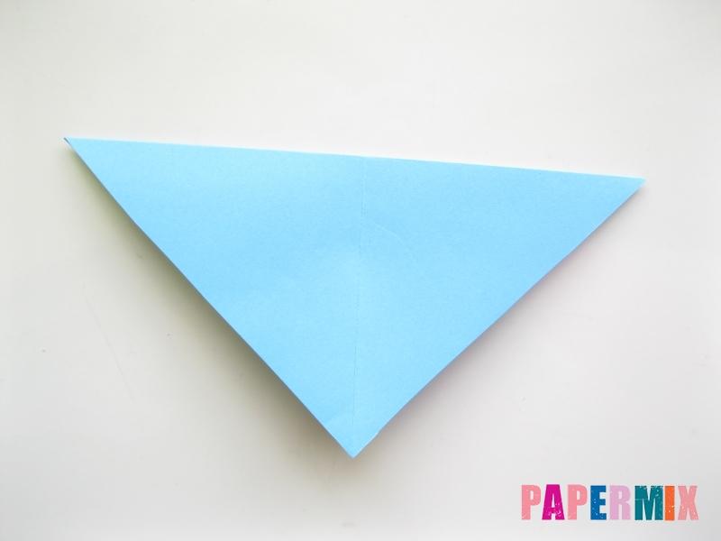 Как сделать объемную бабочку из бумаги поэтапно - шаг 2