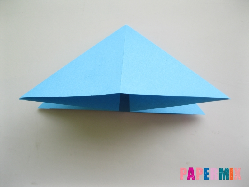 Как сделать объемную бабочку из бумаги поэтапно - шаг 7
