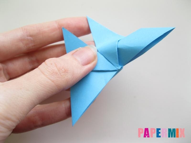 Как сделать объемную бабочку из бумаги поэтапно - шаг 9