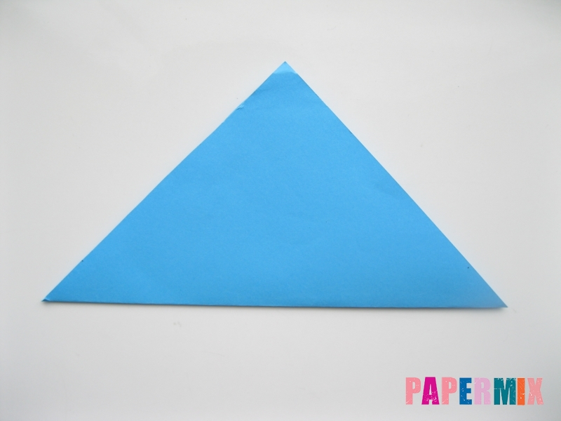 Как сделать оленя из бумаги (оригами) поэтапно - шаг 1