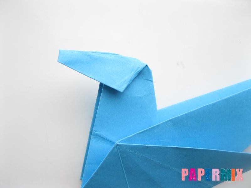Как сделать оленя из бумаги (оригами) поэтапно - шаг 10