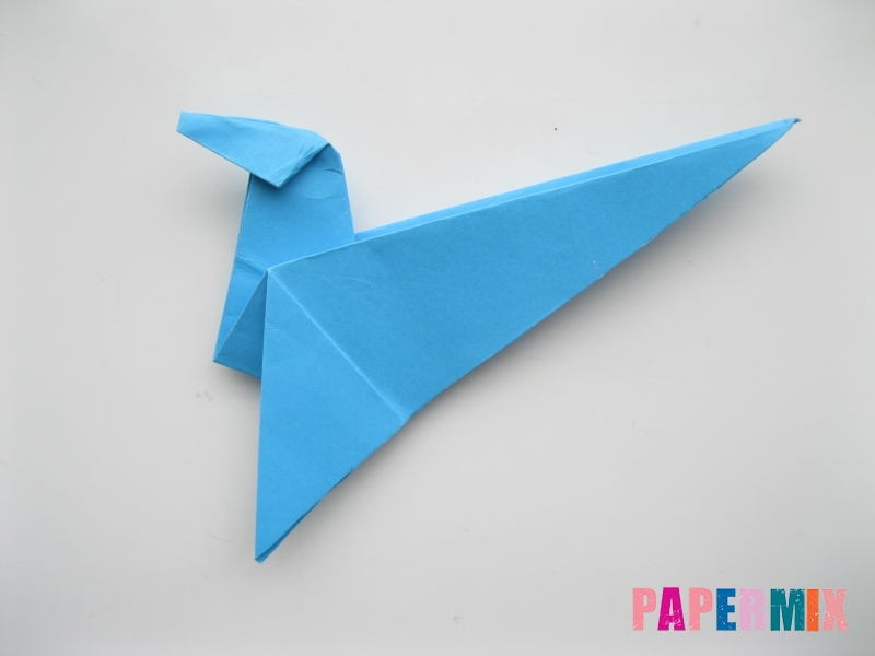 Как сделать оленя из бумаги (оригами) поэтапно - шаг 11