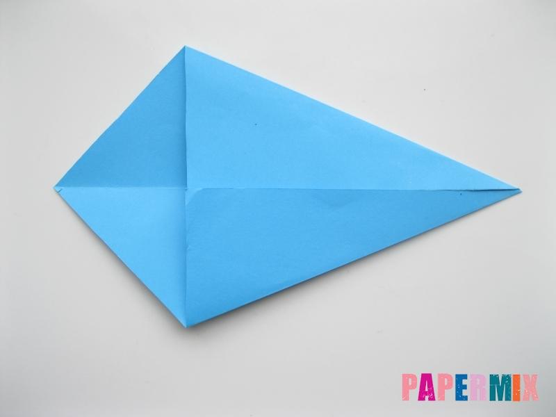 Как сделать оленя из бумаги (оригами) поэтапно - шаг 2