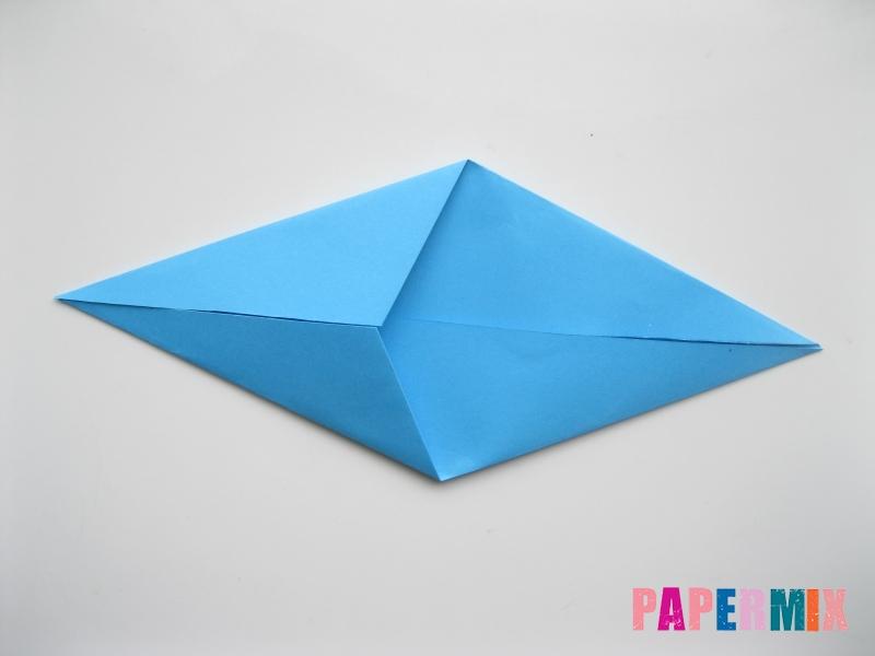 Как сделать оленя из бумаги (оригами) поэтапно - шаг 3