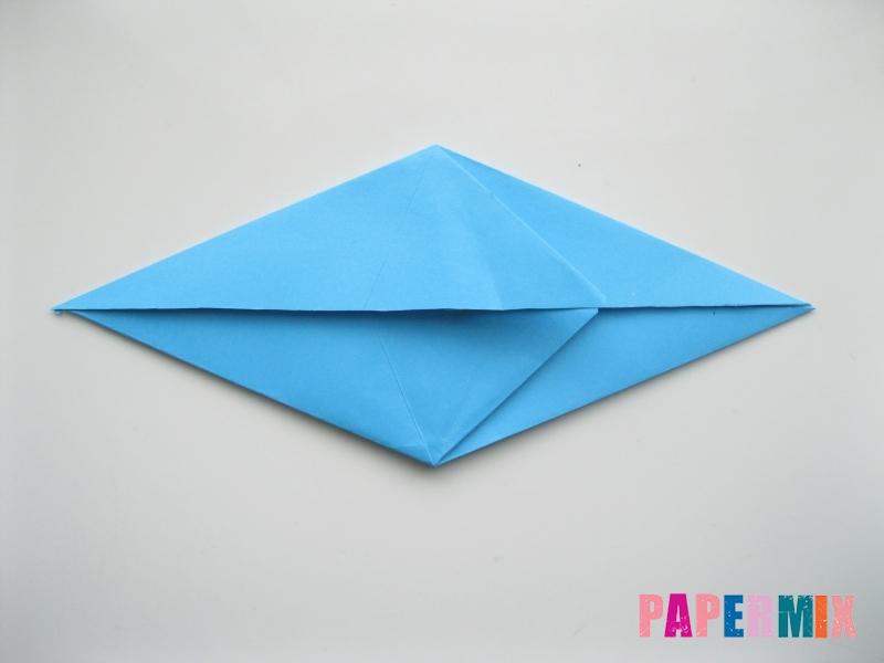 Как сделать оленя из бумаги (оригами) поэтапно - шаг 4