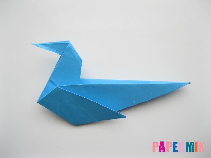 Как сделать оленя из бумаги (оригами) поэтапно - шаг 8