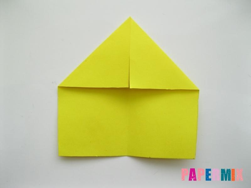 Как сделать овчарку из бумаги (оригами) поэтапно - шаг 3