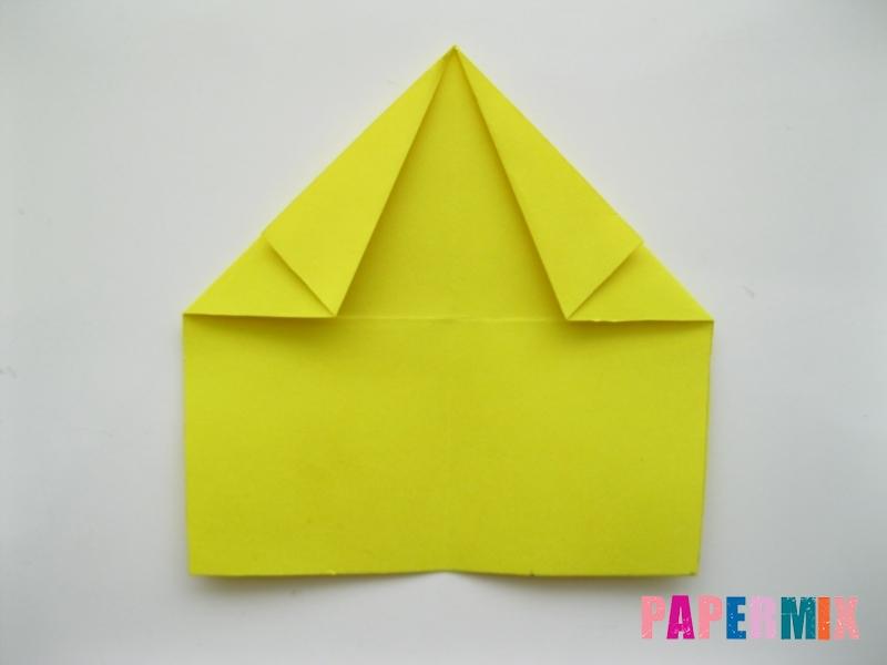 Как сделать овчарку из бумаги (оригами) поэтапно - шаг 4