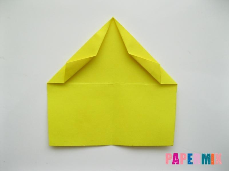 Как сделать овчарку из бумаги (оригами) поэтапно - шаг 5