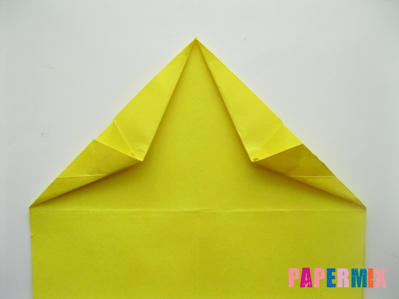 Как сделать овчарку из бумаги (оригами) поэтапно - шаг 7