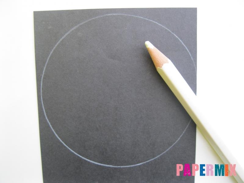 Как сделать овечку из бумаги и салфеток поэтапно - шаг 1