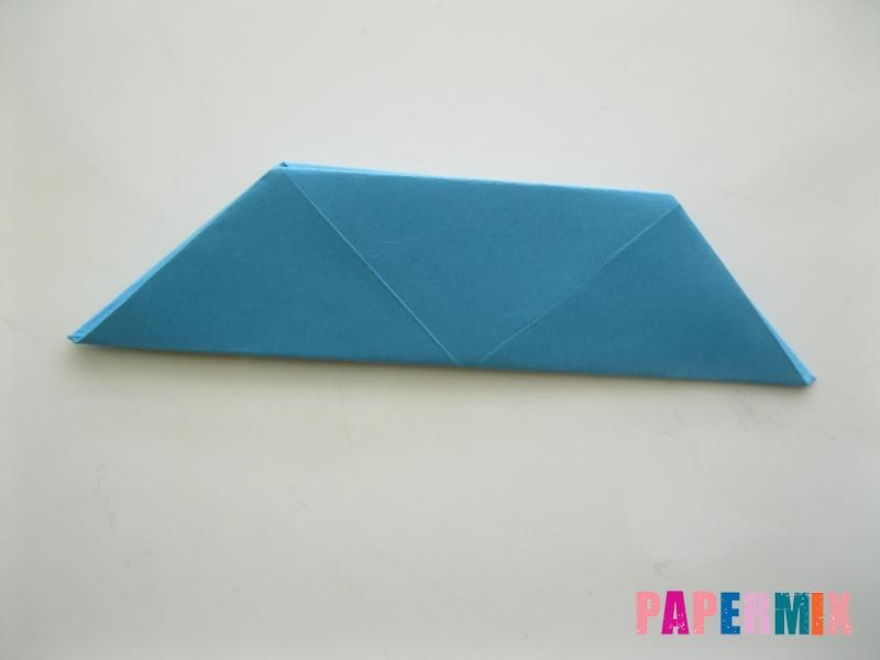 Как сделать пасхального зайца из бумаги поэтапно - шаг 12