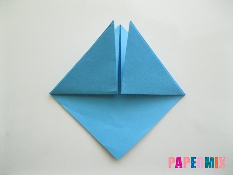 Как сделать пасхального зайца из бумаги поэтапно - шаг 3