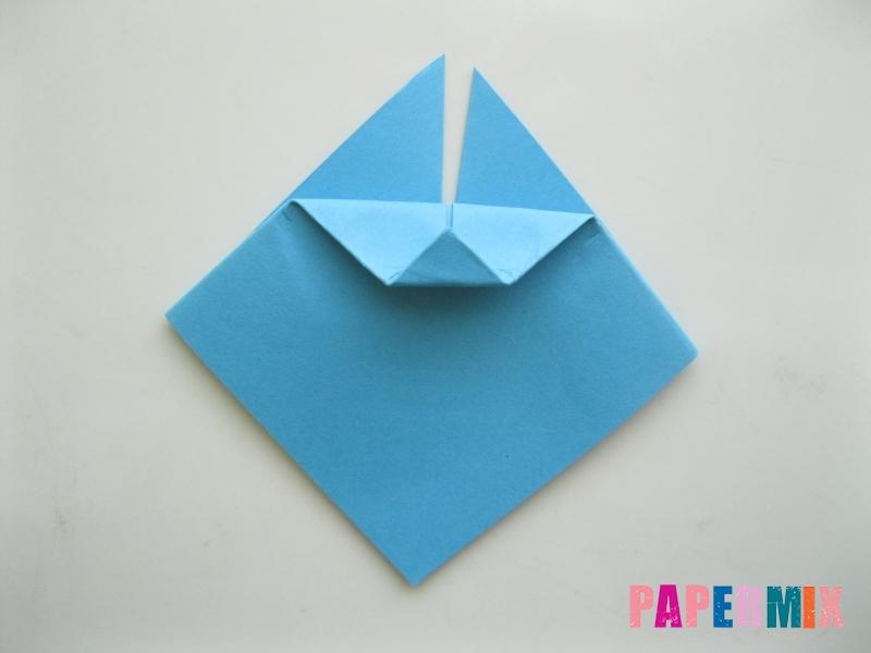 Как сделать пасхального зайца из бумаги поэтапно - шаг 5