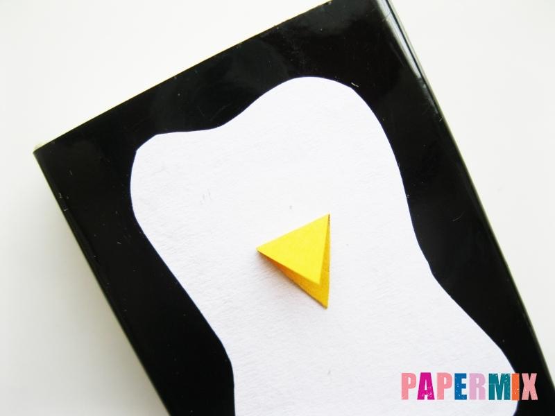 Как сделать пингвина из спичечного коробка инструкция - шаг 5