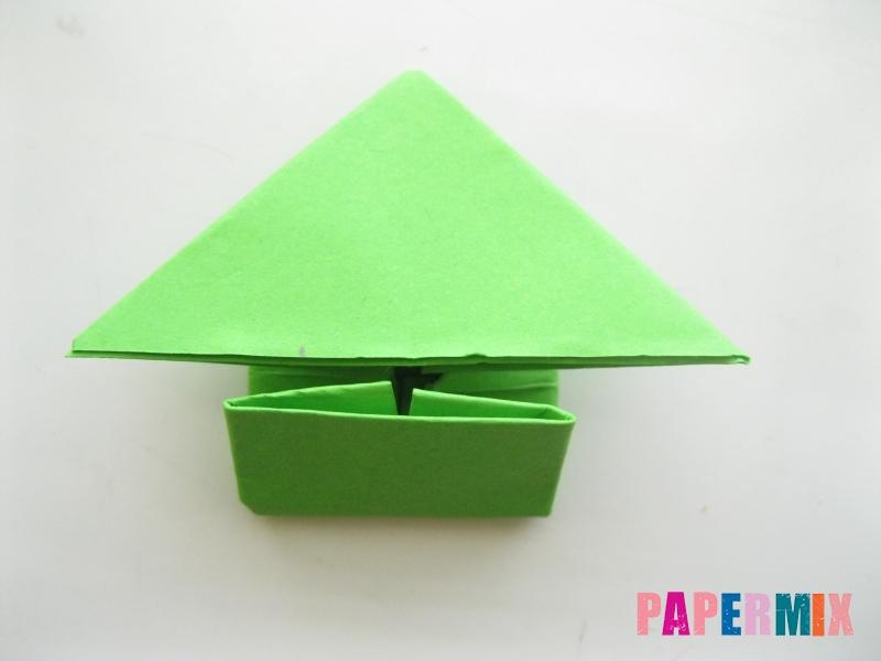 Как сделать прыгающую лягушку из бумаги своими руками - шаг 10