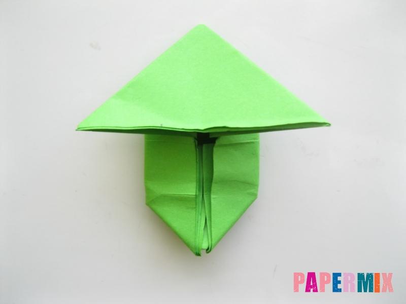 Как сделать прыгающую лягушку из бумаги своими руками - шаг 12