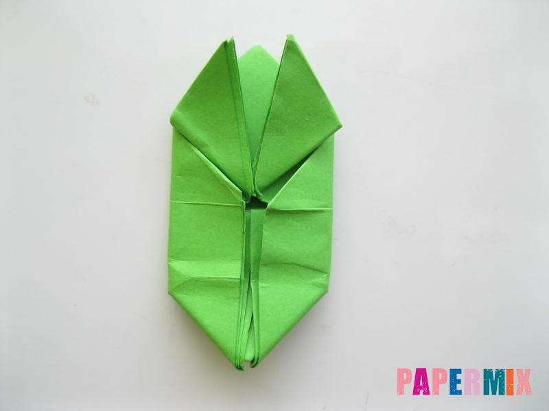 Как сделать прыгающую лягушку из бумаги своими руками - шаг 13