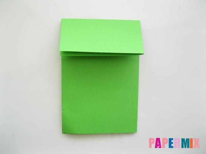Как сделать прыгающую лягушку из бумаги своими руками - шаг 3