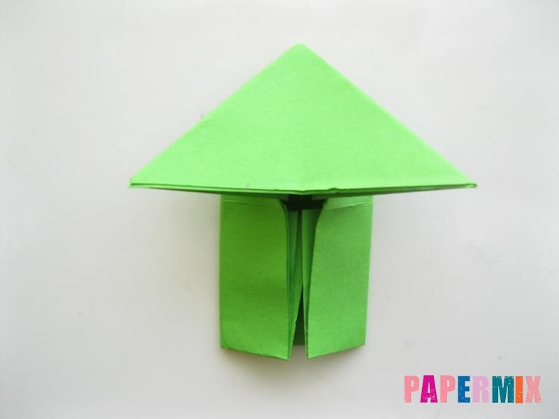 Как сделать прыгающую лягушку из бумаги своими руками - шаг 9