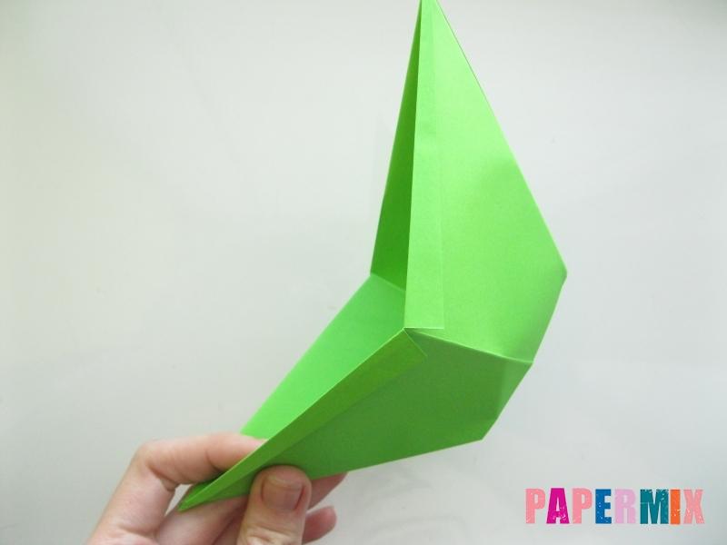 Как сделать рот лягушки из бумаги инструкция - шаг 10