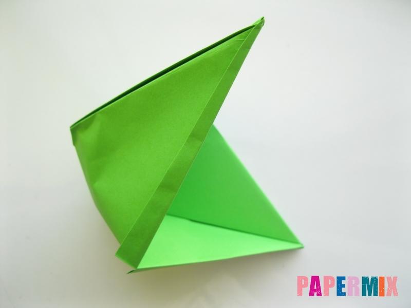 Как сделать рот лягушки из бумаги инструкция - шаг 11