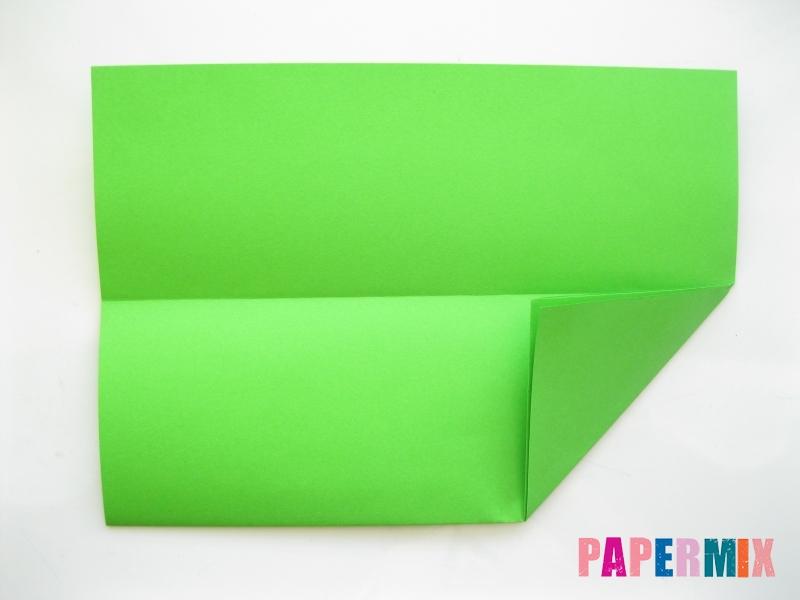 Как сделать рот лягушки из бумаги инструкция - шаг 2