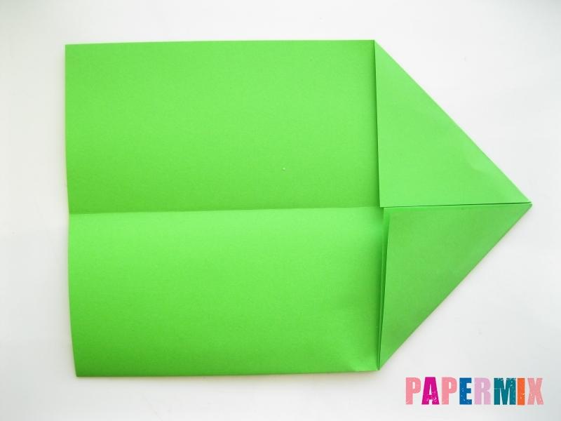 Как сделать рот лягушки из бумаги инструкция - шаг 3