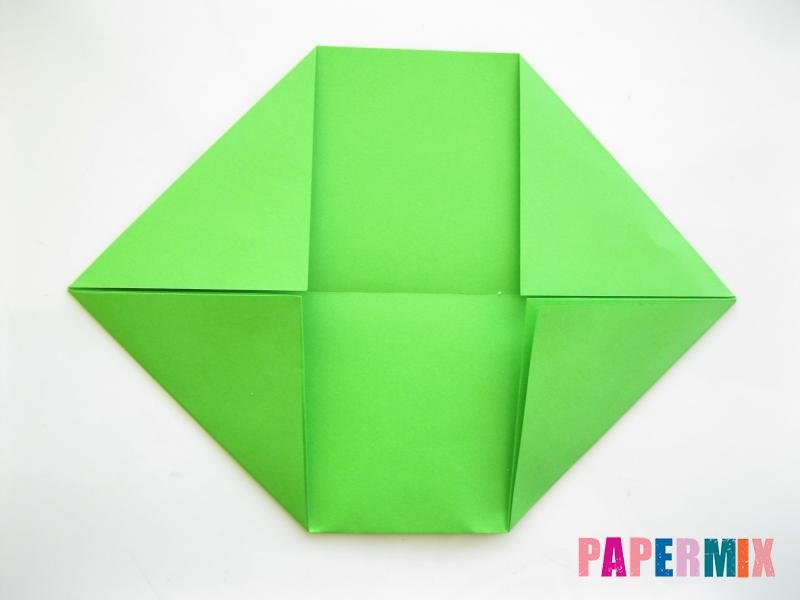 Как сделать рот лягушки из бумаги инструкция - шаг 4