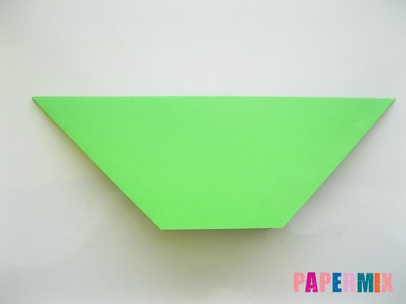 Как сделать рот лягушки из бумаги инструкция - шаг 5
