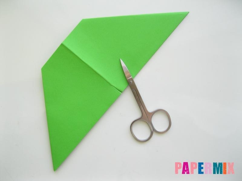 Как сделать рот лягушки из бумаги инструкция - шаг 7