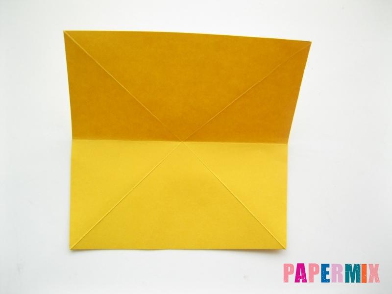 Как сделать рыбку из бумаги поэтапно - шаг 5
