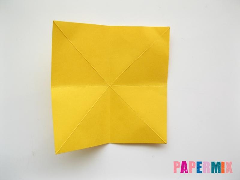 Как сделать рыбку из бумаги поэтапно - шаг 7