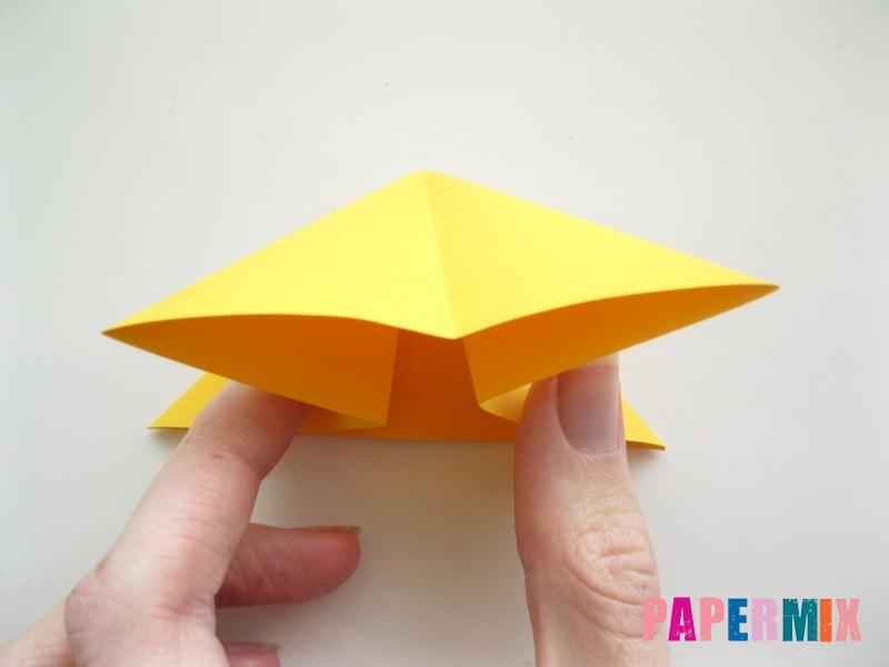 Как сделать рыбку из бумаги поэтапно - шаг 8