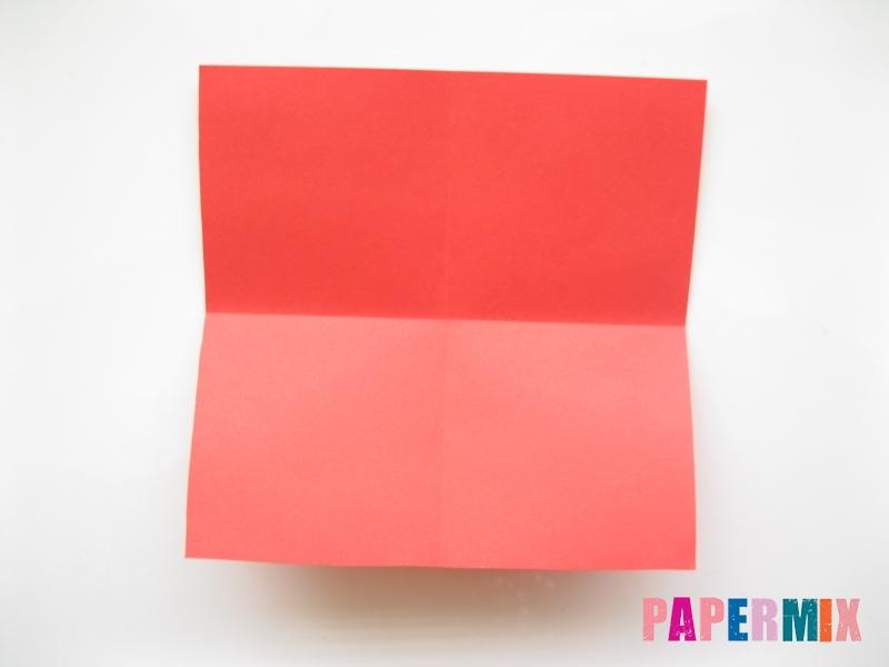 Как сделать рыбу из бумаги (оригами) инструкция - шаг 1