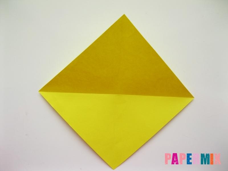 Как сделать щенка из бумаги поэтапно - шаг 1