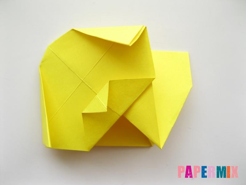 Как сделать щенка из бумаги поэтапно - шаг 10