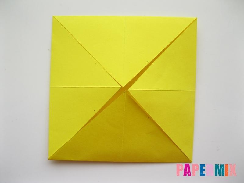 Как сделать щенка из бумаги поэтапно - шаг 2