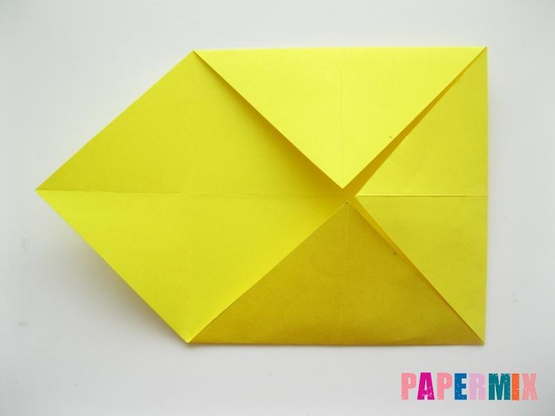 Как сделать щенка из бумаги поэтапно - шаг 3