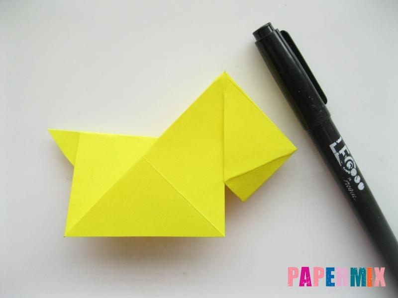 Как сделать собаку из бумаги пошаговая инструкция - шаг 13